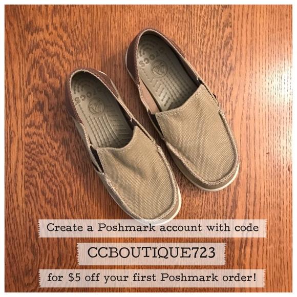 e16a2b51a83 CROCS Other - Crocs Kids  Santa Cruz Canvas Shoes - Style 15576